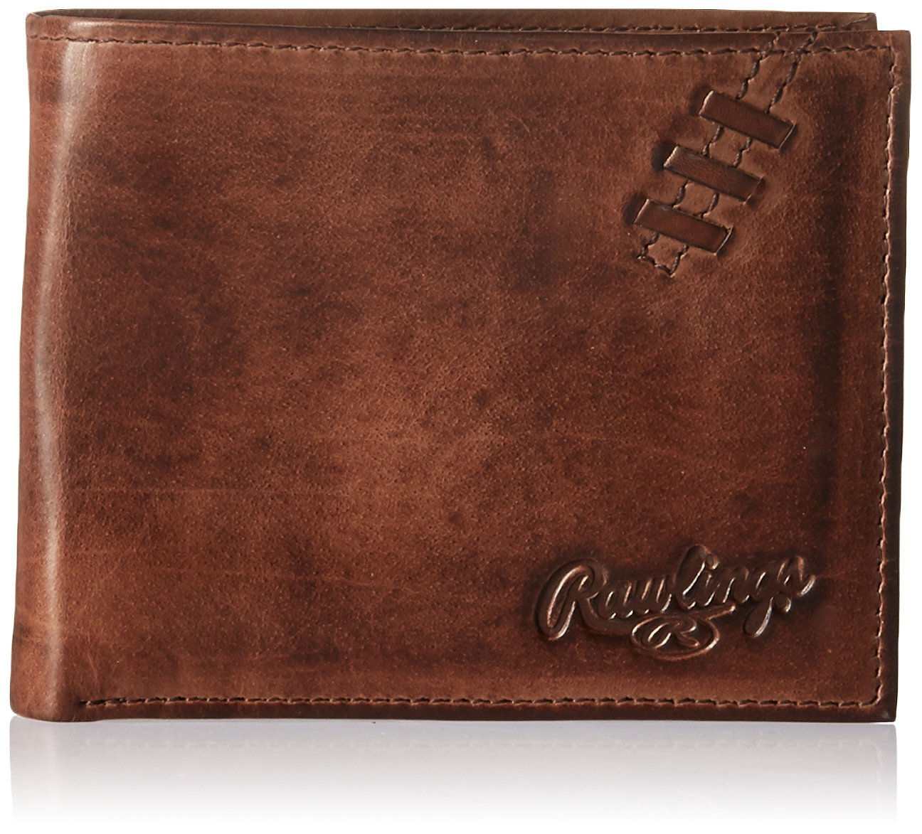 Brown Red Label Accessories RW107 Rawlings Mens Legacy Passcase