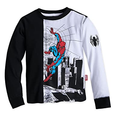 c5f9c84b7f69 Grizzly X Spiderman Longsleeve T Shirt Vintage Black Source · Amazon com Marvel  Spider Man Long Sleeve T Shirt for Boys Size 4