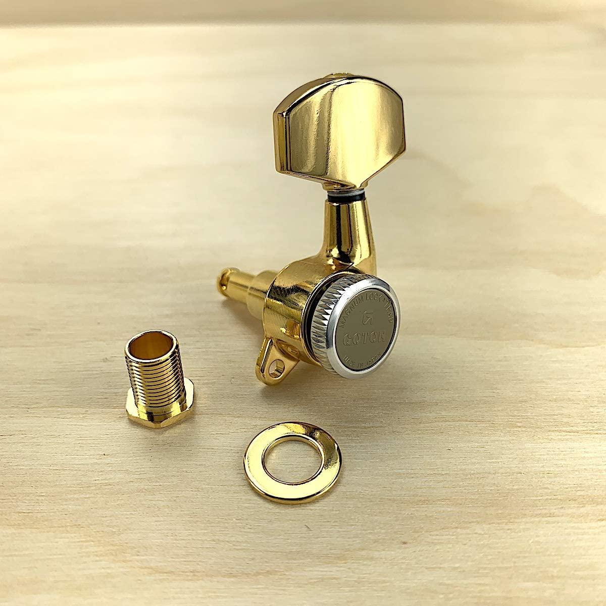 Keystone Buttons For Gotoh Tuning Keys - GOLD 6 NEW
