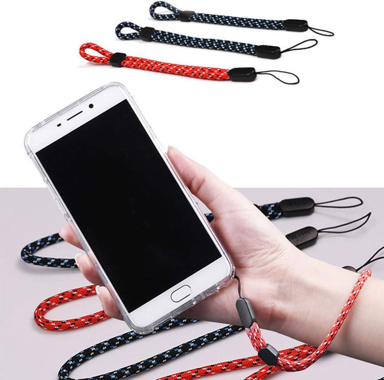 Zengy Adjustable Wrist Strap Hand Lanyard for Phone Camera Gopro USB Flash Drives Keys Id Card Keycord Keychain,Black