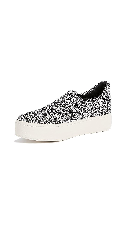 Vince Women's Walsh Platform Sneakers B072Z962SR 7.5 B(M) US|Grey Marl
