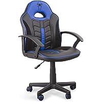 Home Heavenly®- Silla Gaming Win, Silla giratoria para niños, niñas, sillón Gamer con Ruedas ergonómico diseño Moderno…