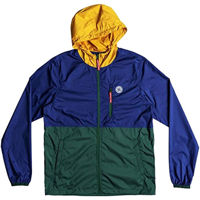 1df20caf4689 DC Shoes M s Dagup Triple Block 2 Track Windbreaker Jacket Sodalite Blue L  at Amazon Men s Clothing store