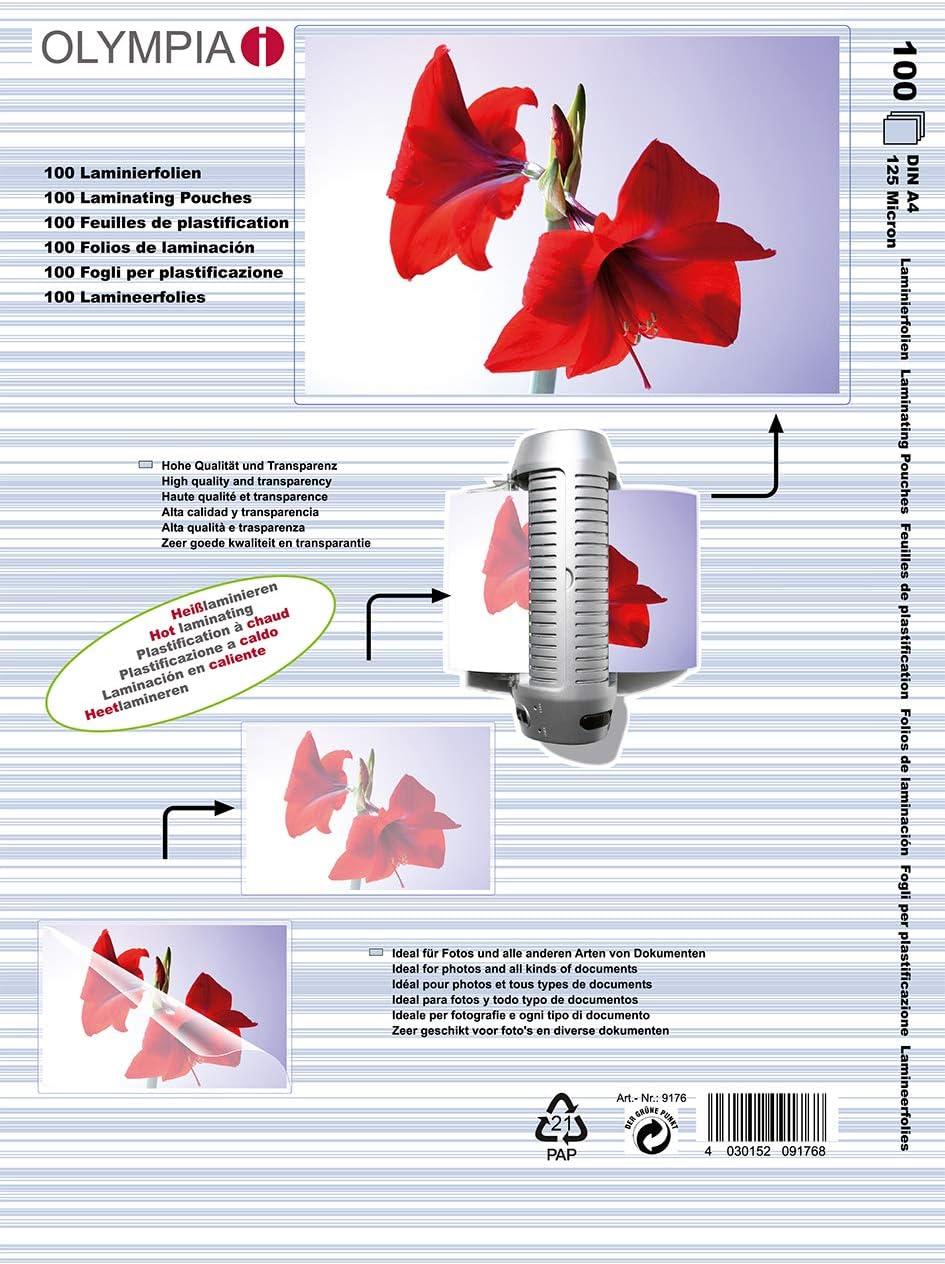 Kostenlose Lieferung! Laminiertaschen Folie 300 AZ Laminierfolien DIN A6