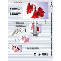 Olympia 9176 Laminierfolien, 125 Mic, DIN A4, 100 Stück