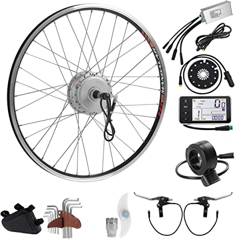 SEASON 36V 350W 26 E-Bike Conversion Kit, Rear Wheel Electric ...
