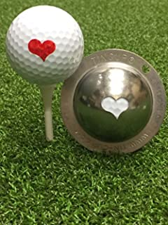 product image for Tin Cup Kiss Me Golf Ball Custom Marker Alignment Tool