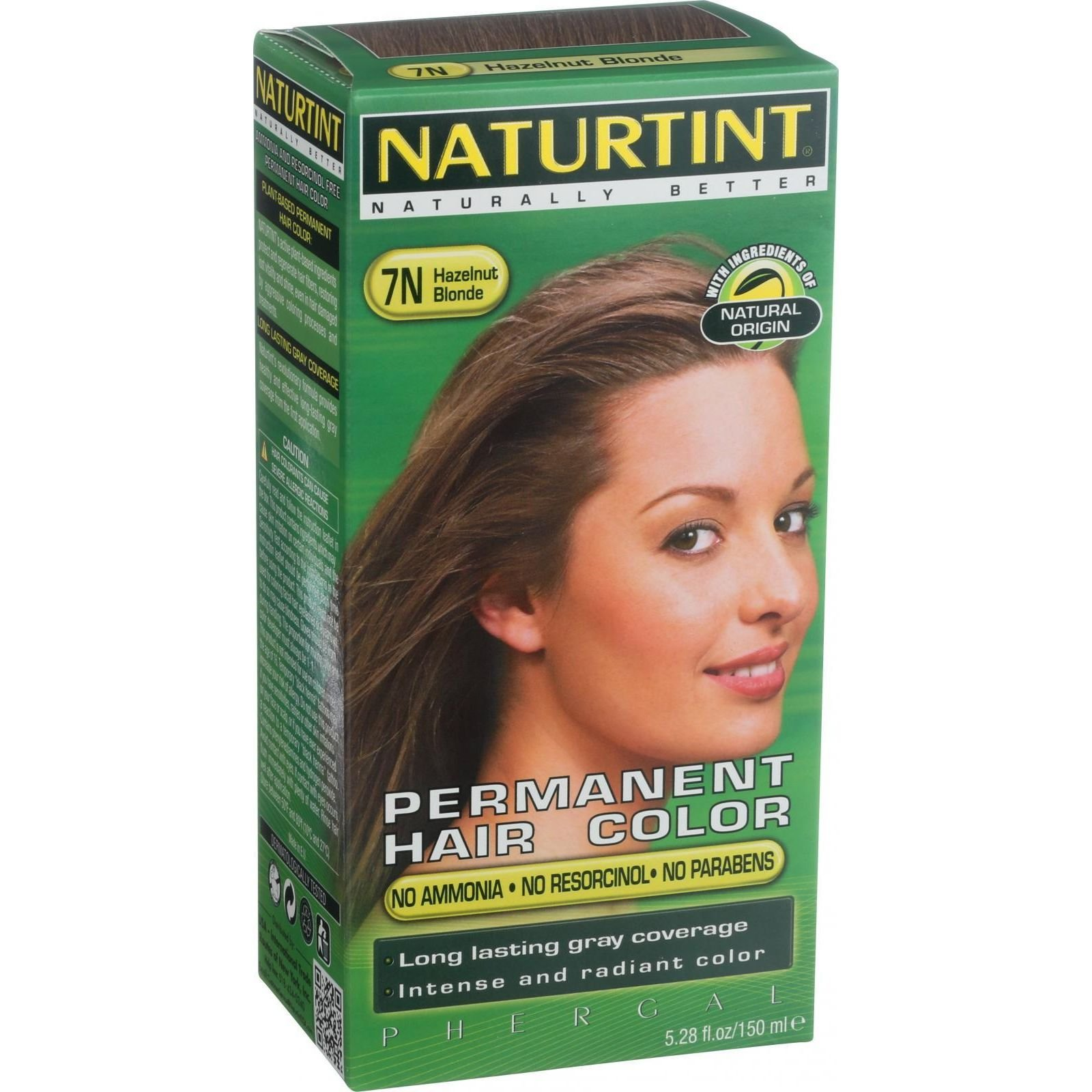 Naturtint Hair Color - Permanent - 7N - Hazelnut Blonde - 5.28 oz (Pack of 3) by Naturtint