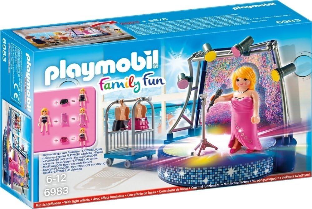 Playmobil Crucero Playset de Figuras de Juguete, Color Rosa, 24,8 x 7 x 14,2 cm (Playmobil 6983)