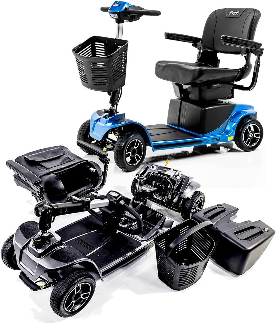 Amazon.com: Revo 2.0 4 ruedas Pride Movilidad Scooter ...