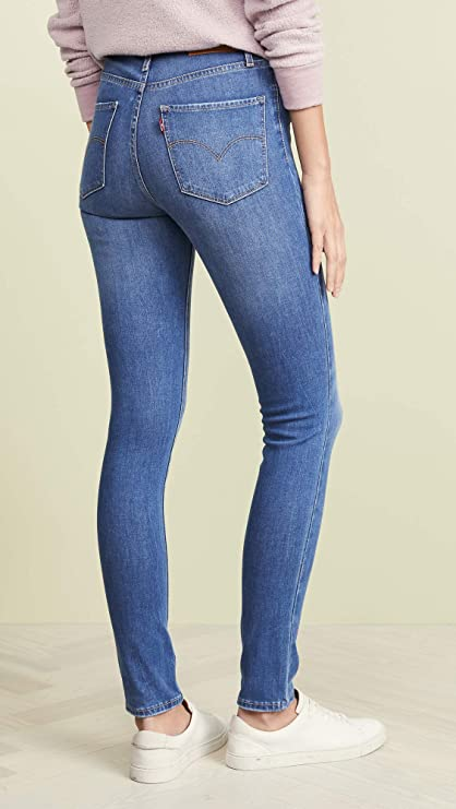 Levis Womens 721 High Rise Skinny Jeans at Amazon Womens ...