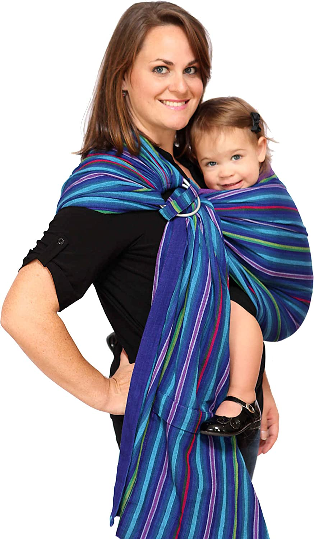 Maya Wrap ComfortFit Anillo Sling & Baby Carrier–bayas