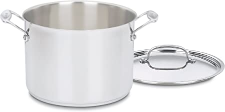 Cuisinart 766-24 Chef s Classic 8-Quart Stockpot with Cover