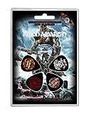 Amon Amarth Plectrum Pack Jomsviking Band Logo Official 5 Pack Guitar Picks
