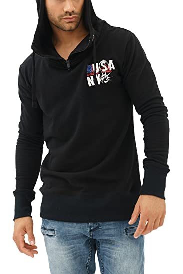 a41f1211 trueprodigy Casual Mens Clothes Funny and Cool Designer Sweatshirt Hoodie  for Men with Design Zipper Slim