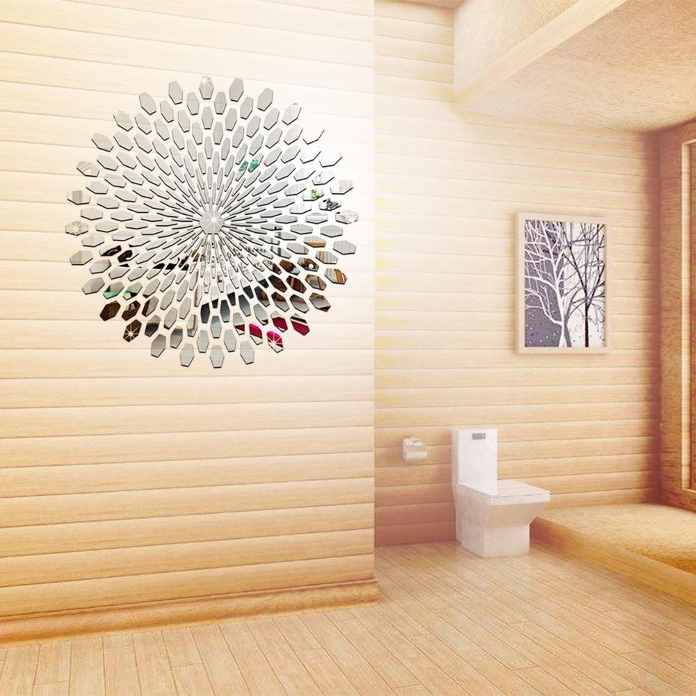 Amazingdeal365 Multifunktion Sonnenblumen Spiegel Wandaufkleber Aufkleber Haus Dekoration f/ür Flug K/üche Badzimmer,Wohnzimmer usw