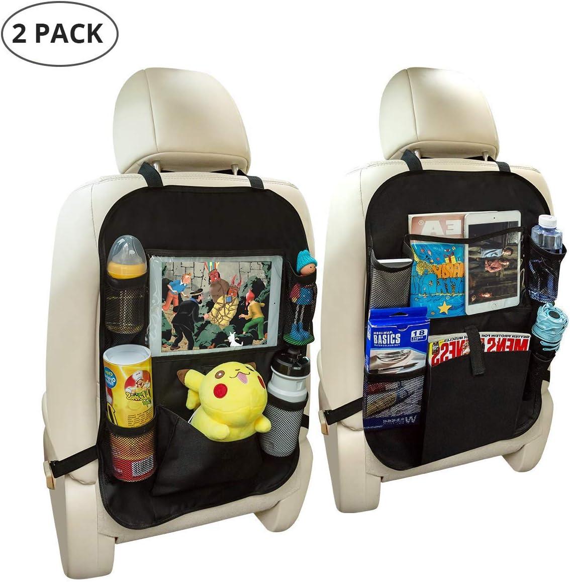 Basics Car Seat Back Protector with Organizer