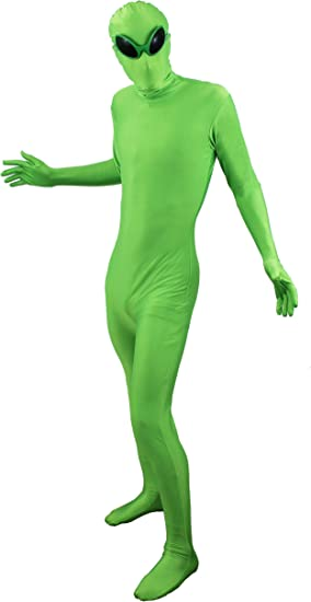 ilovefancydress - Disfraz extraterrestre de piel, disfraz de ...