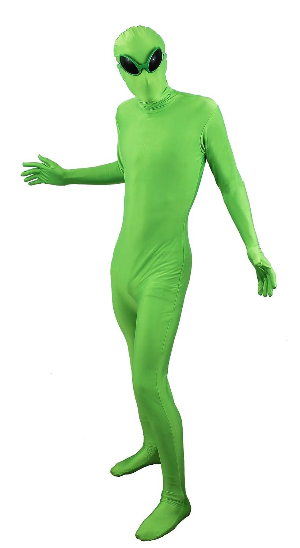 Ilovefancydress - Disfraz de extraterrestre (ajustado, incluye ...