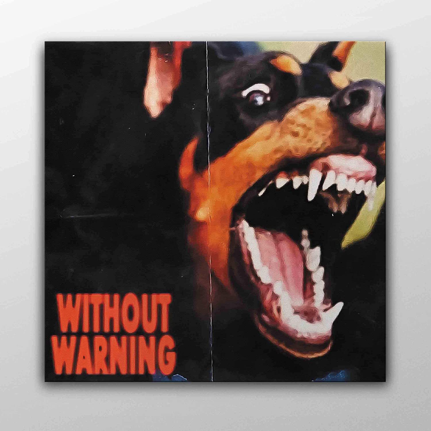 amazon com without warning 21 savage offset and metro boomin album cover canvas poster wall art printed home decor modern print gift idea 30cm x 30cm posters prints amazon com
