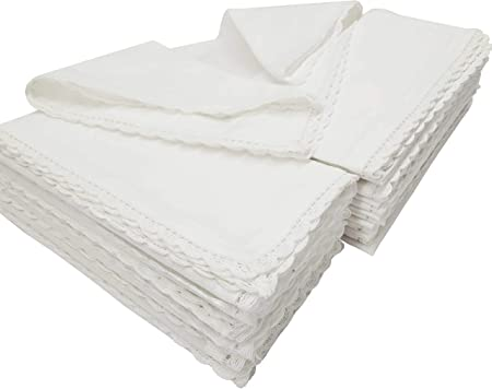 Juego de servilletas hiladas de algodón chambray de Linen Clubs ...
