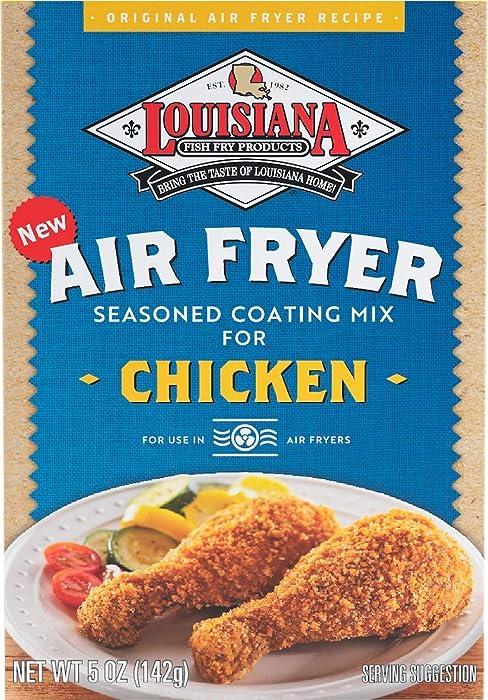 Louisiana Fish Fry Product Fish Fry, Air Fry Chicken Coating Mix, 5 oz