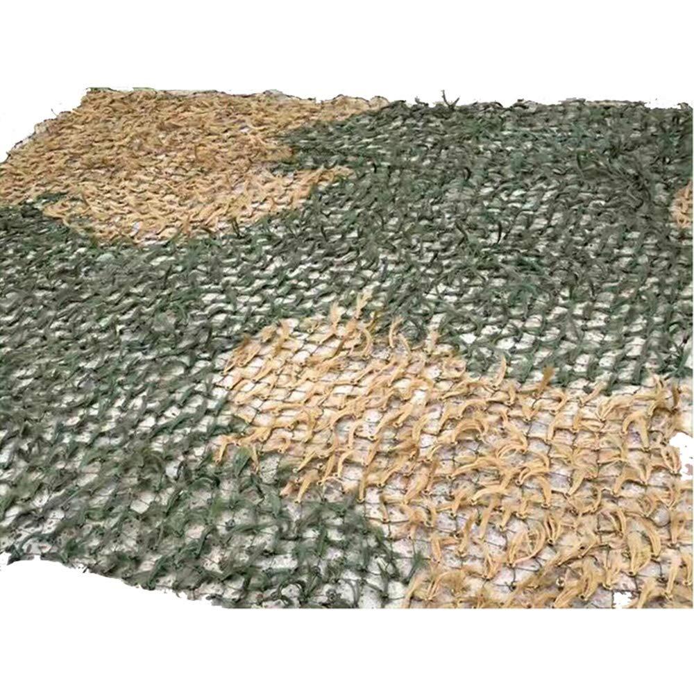 XIAOLIN 迷彩マツ針迷彩ネット屋外シェードネット装飾草シミュレーション用トレーニング (色 : A, サイズ さいず : 4X4m) 4X4m A B07Q28KJS1