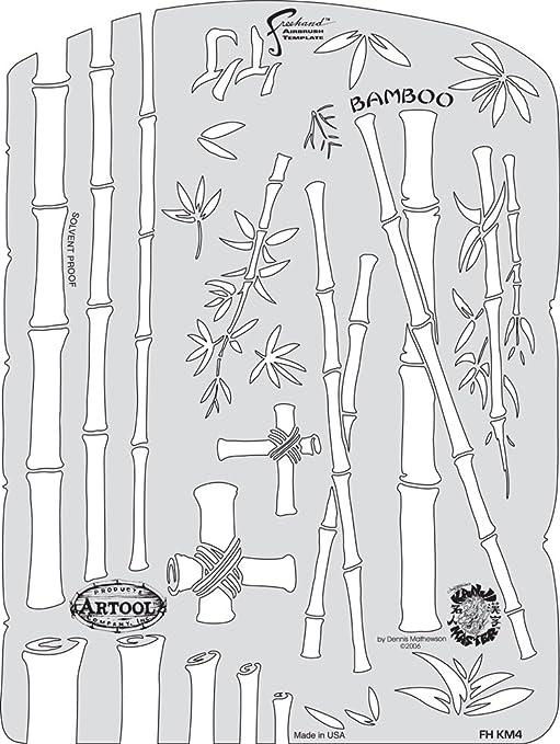 Iwata-Medea Plantillas de aerógrafo Artool Freehand, Kanji Master: Amazon.es: Juguetes y juegos