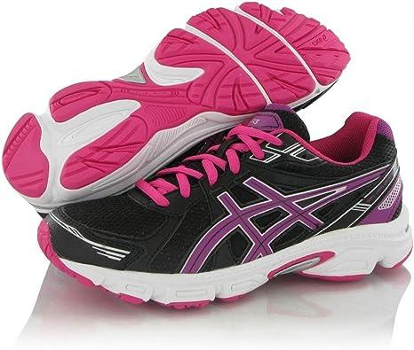 ASICS Gel Galaxy 7 GS - Zapatillas de Running para niños, Color Negro/Morado/Rosa, Talla 35.5: Amazon.es: Zapatos y complementos