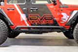 DV8 Jeep Wrangler Tubular Rock Sliders with