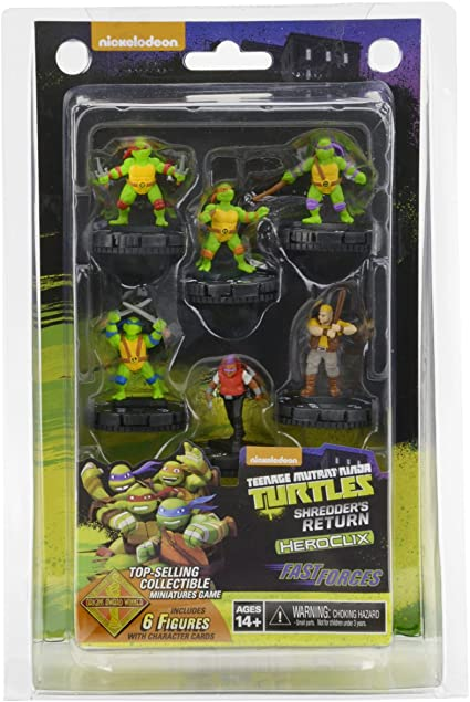 Amazon.com: Teenage Mutant Ninja Turtles Heroclix: Regreso ...