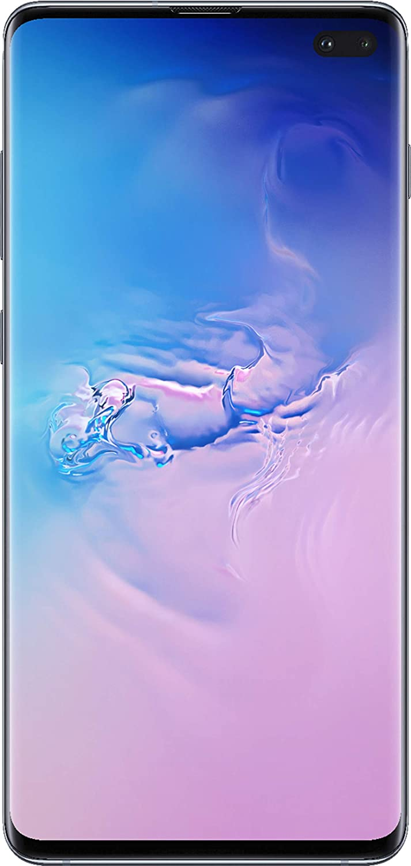 Samsung Galaxy Cellphone - S10+ Plus AT&T Factory Unlock (Prism Blue, 128GB) (Renewed)