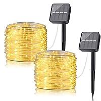 Deals on BINZET LED Solar String Lights Outdoor, 33ft
