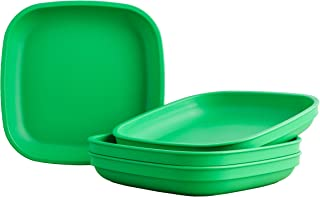 "product image for Re-Play Recycled Products Deep Walled Plates, Set of 4 (7.375"" Deep Walled Plates, Kelly Green)"
