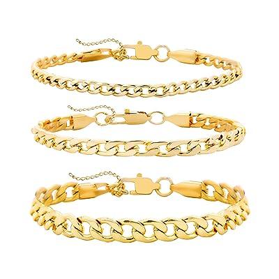 Gold Chain Bracelet Stacking Bracelet Layring Gold Link Bracelet Gold Minimal Bracelet Minimalist Bracelet Gold Ball Bracelet
