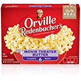 Orville Redenbacher's Movie Theater Butter Microwave Popcorn, 3.29 Oz 6-ct bag