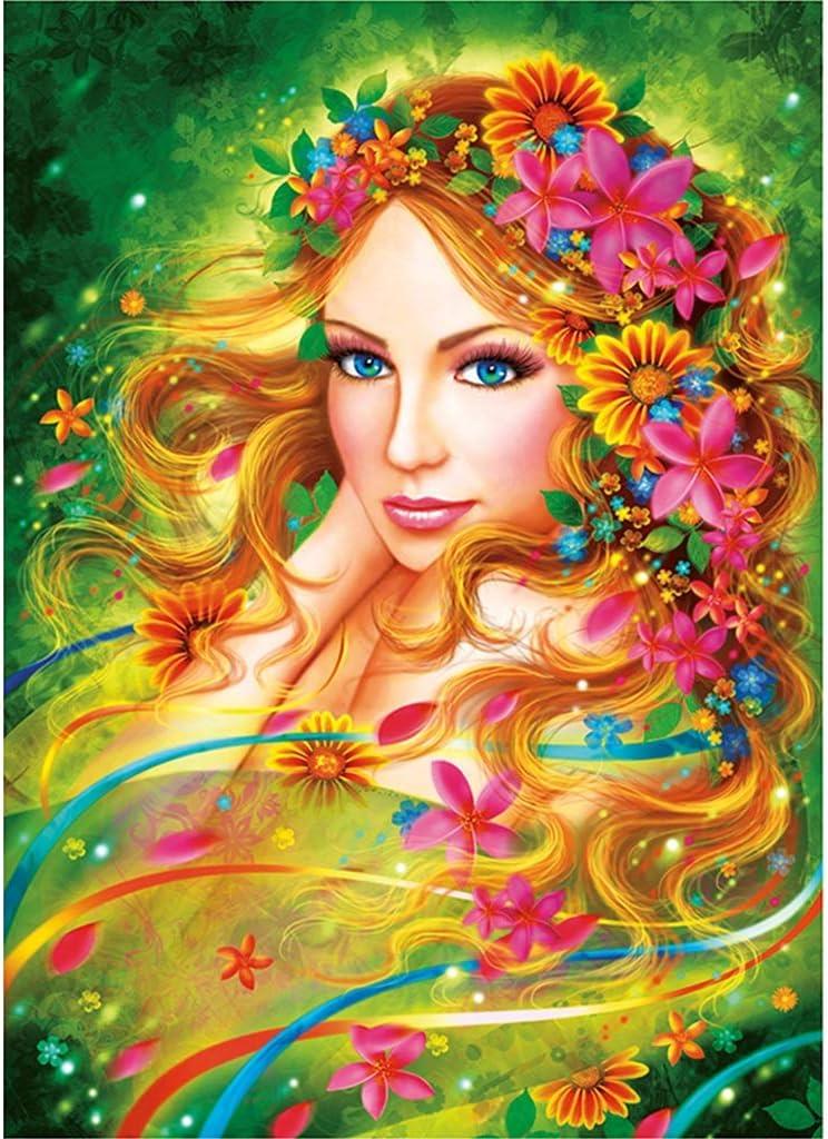 Puzzles para Adultos, 1000 Piezas, Flores De Hadas, Juguetes Infantiles De Descompresión Creativa De Madera para Adultos Utilizados para La Pintura De Decoración P4.13