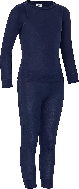 Icefeld/®/ /Respirant Parure Chaud en lang/ärmligem T-Shirt /sous-V/êtement Thermique Kit pour Enfants/ /ökotex100 Longue Europe.