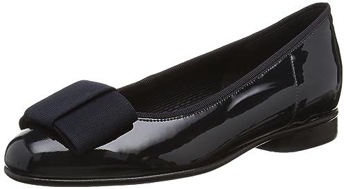 c951296ec Gabor Women s Assist-Patent Ballet Flats  Amazon.co.uk  Shoes   Bags