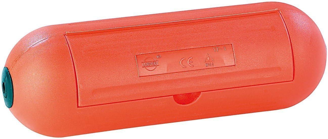 2 unidades, IP44 SafeBox C/ápsula protectora impermeable para enchufe