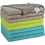 AIDEA Microfiber Cleaning Cloths Softer Highly Absorbent, Lint Free Streak Free for House, Kitchen, Car, Window Gifts…