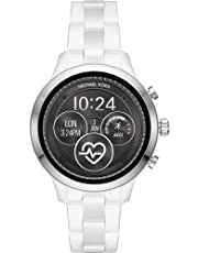 Michael Kors Damen-Smartwatch mit Keramik Armband MKT5050
