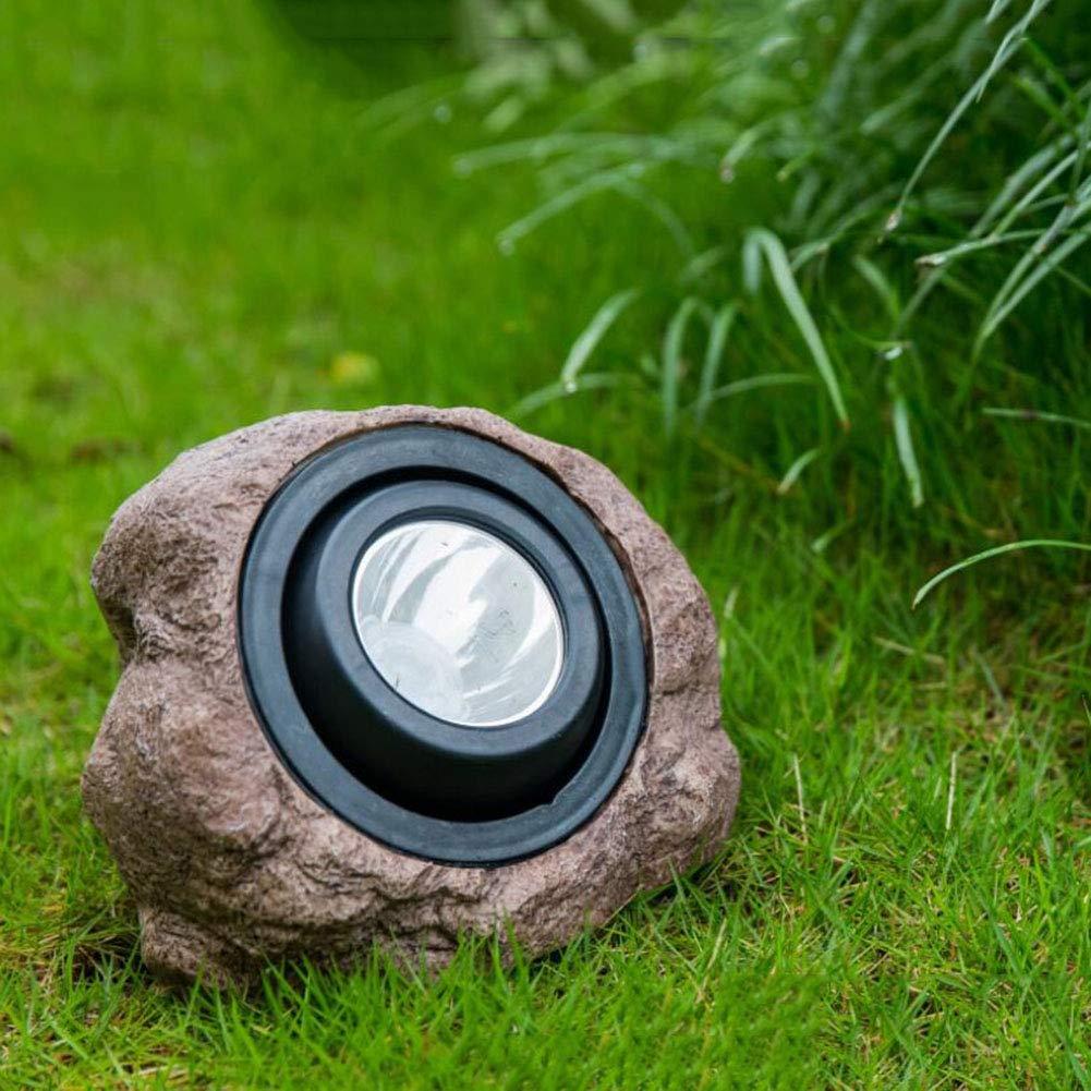 LED Solar Flutlicht, Outdoor Solar Power Spotlight, Stein Rasen Flut Landschaft Lampe Für Garten Dekoration IP65 Wasserdicht