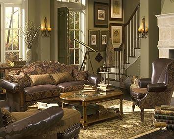Amazon Com Aico Living Room Set Sedgewicke Ai 359 Kitchen Dining