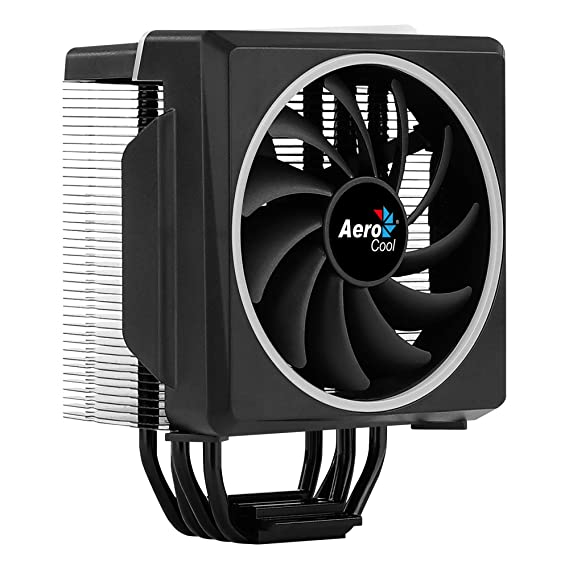 Aerocool CYLON4, refrigeración para PC, iluminación LED RGB, 4 heat pipes