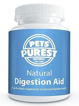 Pets Purest Ayuda de digestión 100% natural para perros, gatos, caballos y mascotas