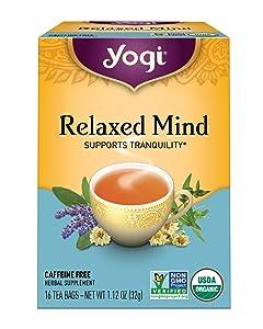 Yogi Tea - Relaxed Mind - 4 Pack, 64 Tea Bags