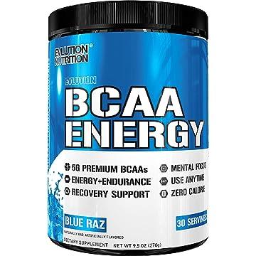 powerful Evlution Nutrition BCAA Energy - High Performance