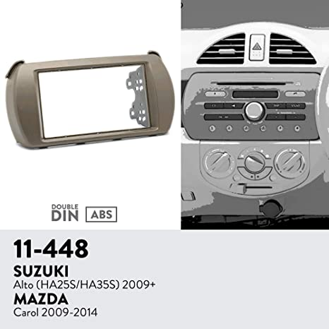 Universal Radio Car Stereo CD Player Dash Install Pocket Mounting Kit Mount Trim