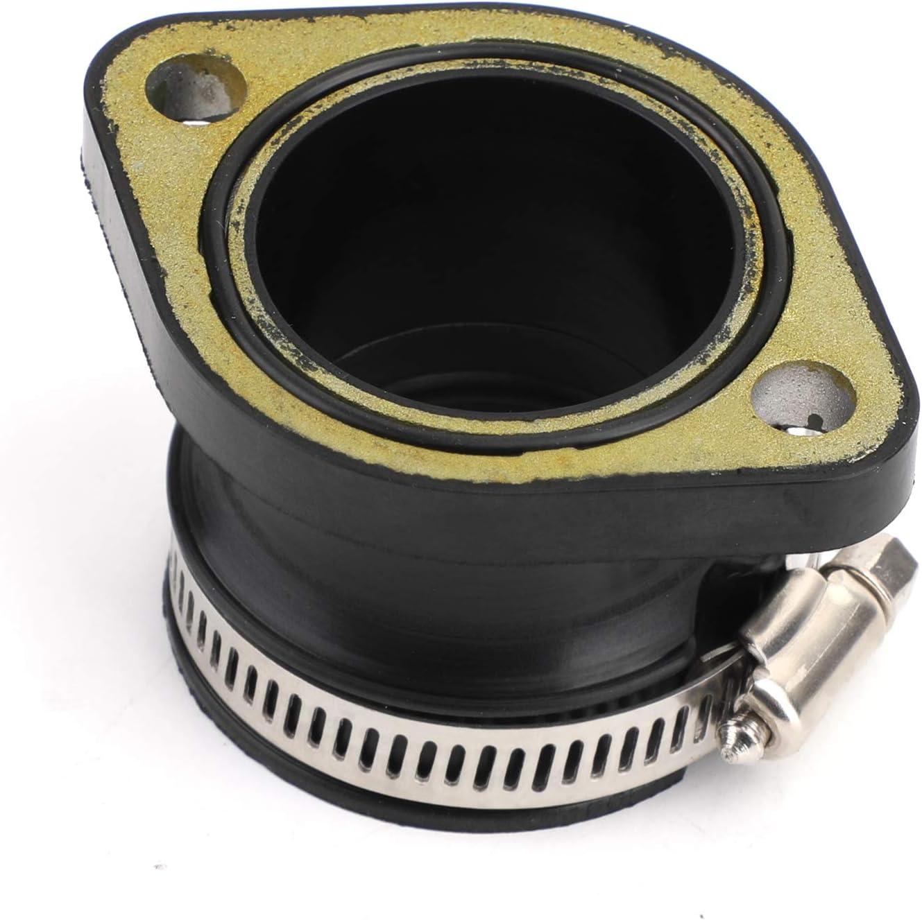 Topteng New Intake Manifold Boot Joint Carburetor Carb Flange Socket For Polaris 3085044 3083306 3082537 3082439
